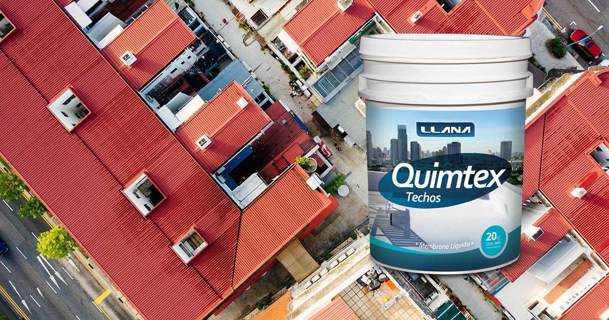 Proteja sus techos con membrana líquida de base acuosa