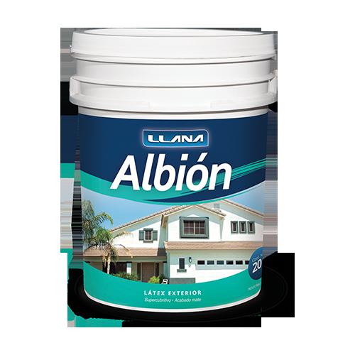 Lata de pintura Albión Látex Exterior