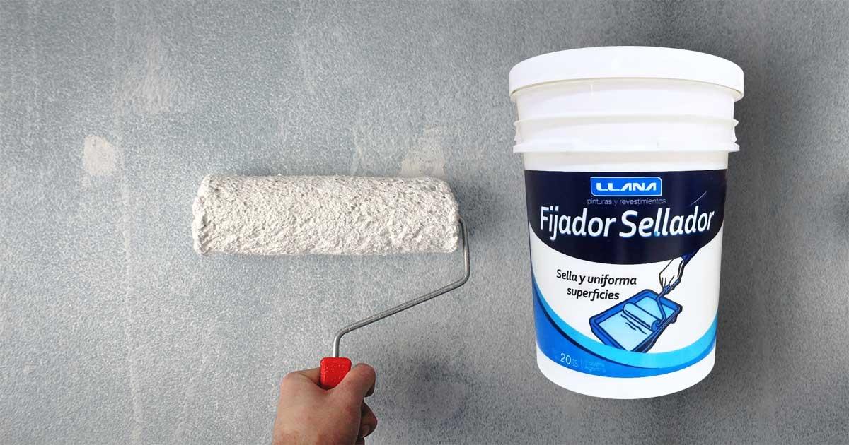 Fijador para paredes nuevas con alcalinidad residual